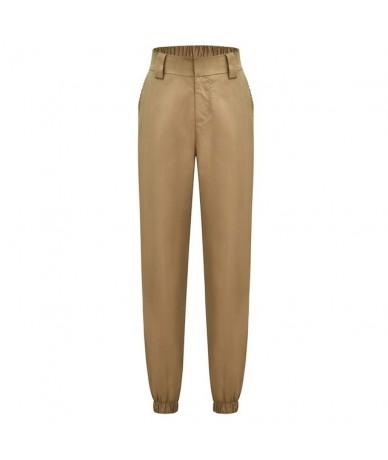 Women's sweatpants and joggers Women Straight Harem Pants Side Pockets Front Zipper Casual Loose XXXL Plus Size Trousers - K...