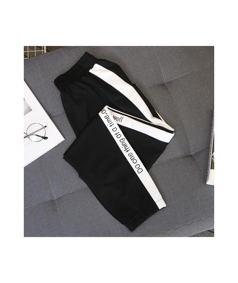5xl Plus Size motion pants women spring autumn 2019 Korean version loose Harem pants Elastic Waist casual Ladies' trousers C...