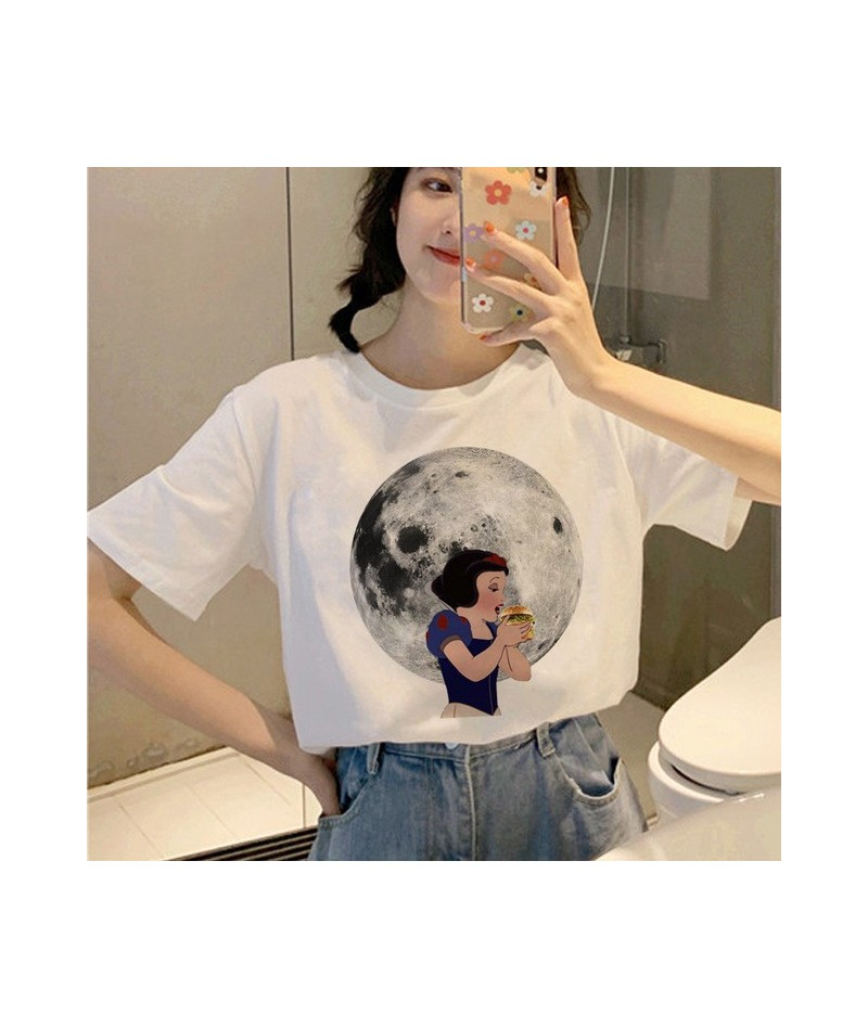 New Aesthetic Harajuku Ullzang T Shirt Women 90s Funny Cartoon T-shirt Grunge Korean Style Tshirt Graphic Vintage Top Tee Fe...