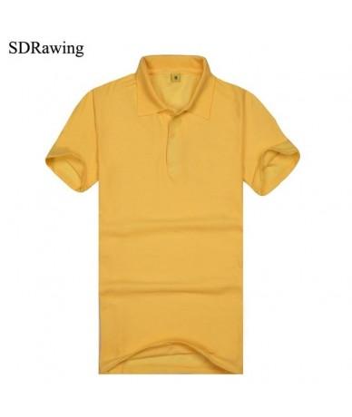 Women Polo Short Sleeves Top Turn-down Collar Polo Shirt Casual Shirts Damen Polo Solid Color Tops Brand Clothes - yellow - ...