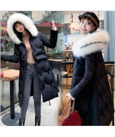 Winter Women Coat cotton Thickening Jacket And Coat For Women High Quality Parka women winter clothes jackets coats 259 - Bl...