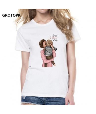 Mother's Love for Her Children T Shirt Women Super Mama Tshirt Summer Cotton T-shirt Tee Shirt Femme Tops Casual Streetwear ...