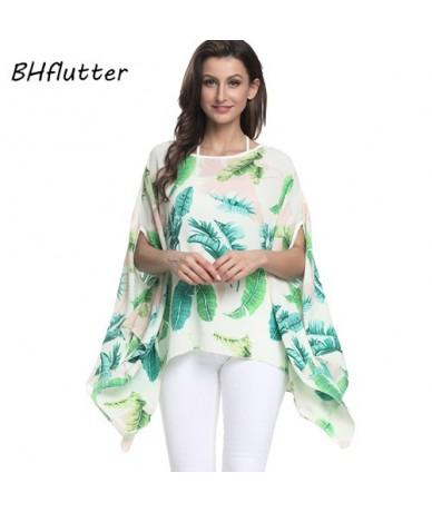 Women Blouses 2018 New Print Chiffon Blouse Shirt Batwing Sleeve Casual Loose Boho Summer Tops Tees Plus Size 4XL 6XL - pict...