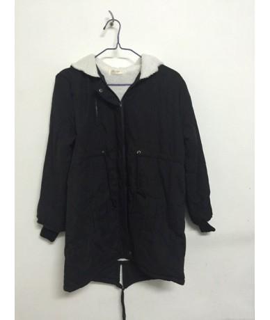 5XL Winter Hooded Women's Parka Plus Size Women Coat Military Army Green Black Thick Warm Fleece Mid Long Vintage Jacket Fem...