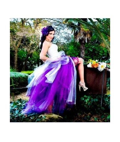 Fashion Handmade Bundle Tulle Tutu Skirts for Pregnant Woman Photography Props Full-Length Long Ballroom Tutu Faldas Saia Ju...