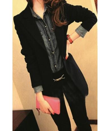 Plus Size Long Blazer Feminino Women Casual Suit Jackets Blaser Femininos Elegant Slim Blazers Female Workwear Office Coats ...