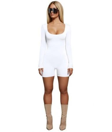 Fashion Sexy Bodysuit Women Jumpsuit Short for Women Sportswear for Women Black White Women Jumpsuit 2019 Summer New Clothin...