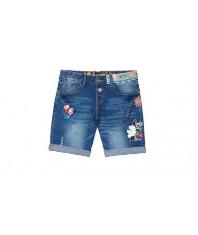 2019 spain desiguers women Cowboy shorts. - Blue - 51111188434716