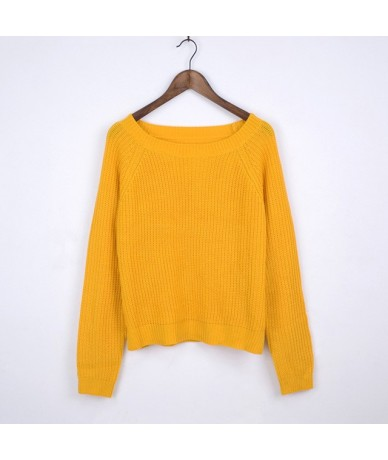 Autumn winter women sweaters and pullovers korean style long sleeve casual crop sweater slim solid knitted jumpers sweter mu...