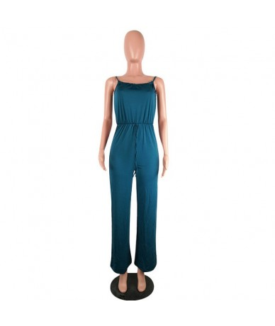 Sexy Romper Womens Jumpsuit Fall 2019 Festival Clothing Streetwear Overalls One Piece Wide Leg Pant Plus Size Jumpsuits - Gr...