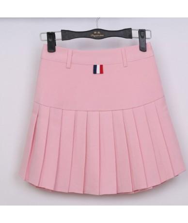 high waist pleated skirts Kawaii Harajuku Skirts women girls lolita a-line sailor skirt Large Size Preppy school uniform - P...