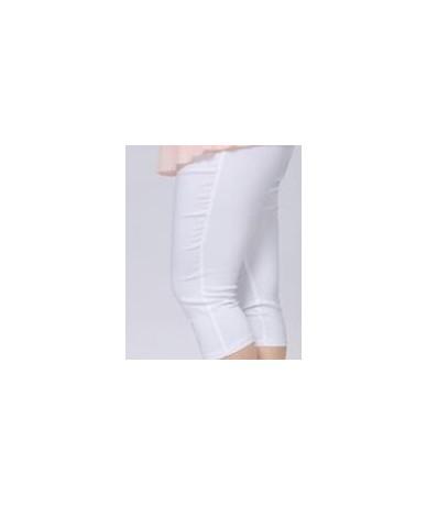 Good Quality Extra Large Size Women Capris Pants Super Stretch Candy Color Plus Size Female Elastic Pants Calf length 6XL DV...