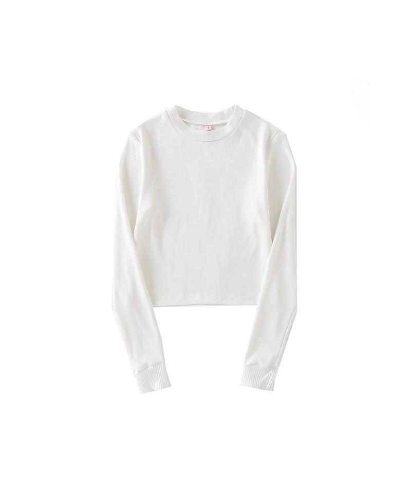 Women Multi Stripe Long Sleeve Tee - white - 483966730566-3