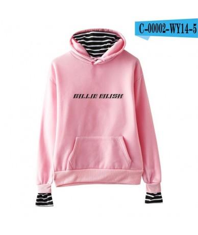 Billie Eilish Fake Two Pieces Hoodies Sweatshirt Fashion 2019 New Style Hooded Outwear Harajuku Men/Women Sweatershirt Plus ...