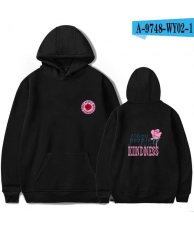Harry Styles Treat People With Kindness Print Hoodies Women/Men Fashion Streetwear Hooded Sweatshirt Casual Hoodies - black ...