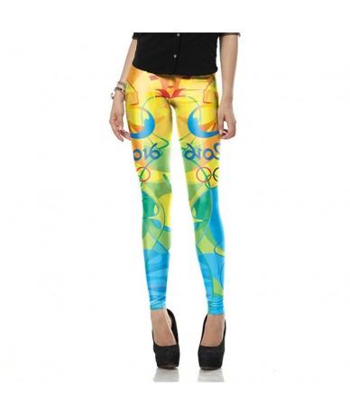 New Arrival Pattern Leggings Women Printed Pants Work Out Sporting Slim White Black Trousers Fitness Leggins - KDK1553 - 4N3...