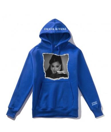 Exclusive Thank U Next Break Up Men Hoodie Women Streetwear Man Casual Zipper Coats Jacket Casual Fleece Mens Felpe - Blue -...