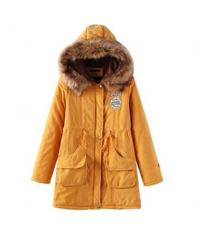 Women Winter Parkas Female Coat Thickening Fashion Womens Outwear Parkas for Women Cotton Winter Jacket Winter - color 1 - 4...