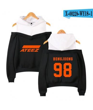 ATEEZ Printed Off-Shoulder Women Sexy Exclusive Hoodies Sweatshirts 2019 New Team Women Casual Plus Size autumn Hoodies - WY...