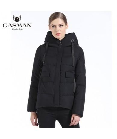 2019 Women Winter Coat Short Fashion Slim Down Jacket Brand Female Windproof Overcoat Casual Hooded Bio Down Parka Winter - ...