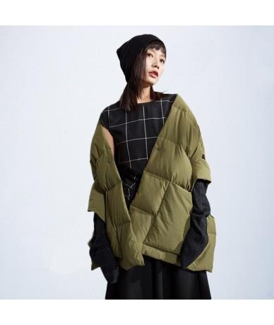 Warm Winter Female Coat Black Clothing 2019 Women Jacket Cotton Women Winter Sleeveless Jacket Coat Fashionable Spring - M00...