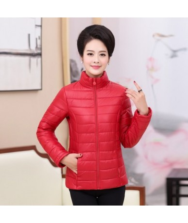 Manteau femme hiver Winter jacket Women Snow wear fashion thicken parkas femal 2018 Casual ultra light jacket warm coat over...