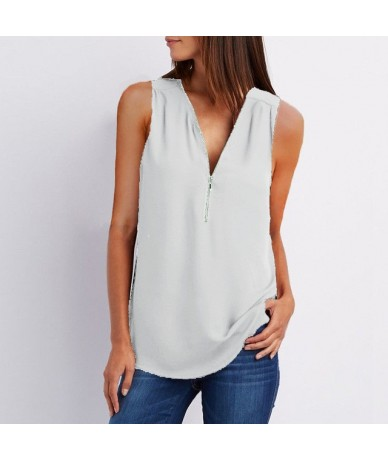 New 2019 Fashion Women Sexy Summer Tops Casual Sleeveless Tank Top Plus Size Women Blouse Ladies Large Sizes T Shirt Top 4XL...