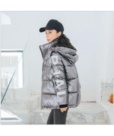 Autumn Winter Parka Women Coat 2019 Female Winter Jacket Women Parkas Warm Casual Thick Loose student Overcoat R263 - Gray -...