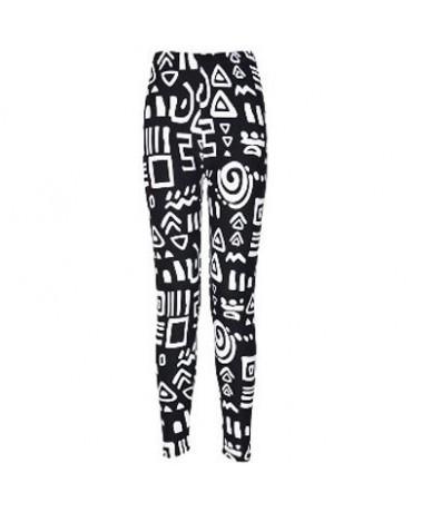 Women Leggings Pantalones Black Milk Print Leggings Summer Style Soft Skin Material Nine Women Leggins - BN22 - 4E3757003557-17