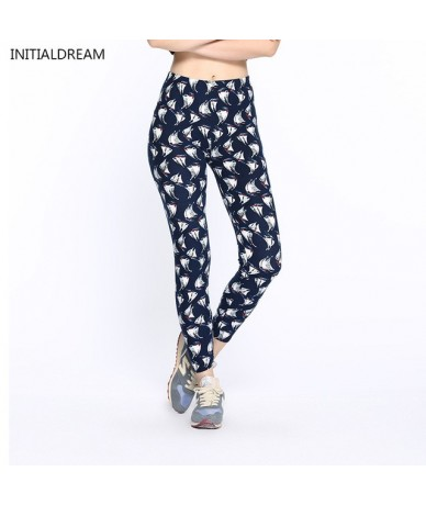 Women Leggings 2019 Fashion Star Print High Waist Stretch Elasticity Leggins Spring Autumn Slim Skinny Leggings Pants Female...