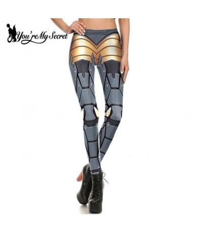 Star War Fitness Leggings Women Leggins Digital Print Robot Armor Punk Cosplay Slim Legging Femme Mujer - KDK1662 - 44303144...