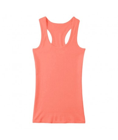 2019 New Summer Fitness Tank Top Female T Shirt Loose Women T-shirt O-neck Slim Tops Fashion Clothes Plus Size - 6 - 4641156...