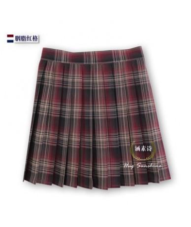 2019 Women'S Harajuku High Waist Skirt College Style Pleated Plaid Student Skirt Female Japanese Kawaii Skirts For Women - 2...