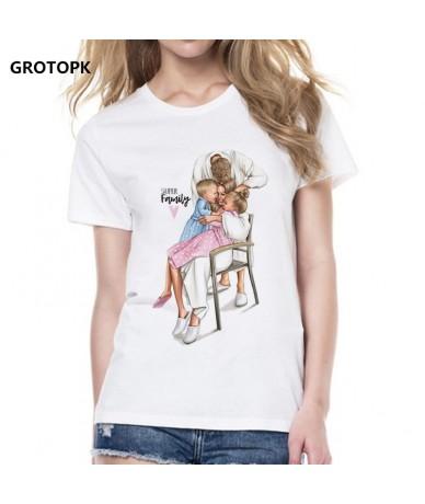 Family Love T-shirts for Women Tee Shirt Femme Cotton T Shirt Womens Mama's Love Vogue Tee Shirt Korean Style Vintage Top - ...