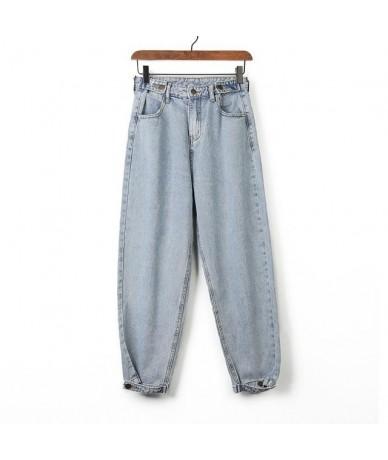 Women 2019 Mom Jeans Harem Jeans Casual Denim Pants Boyfriends Jeans Femme Trousers Ripped Jeans Vintage Retro - No Fur - 4J...