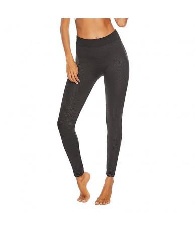 Fashion Seamless Black Leggings Women Snake Skin High Waist Sexy Push Up Pants Fitness Workout Skinny Plus Size Leggings - 1...
