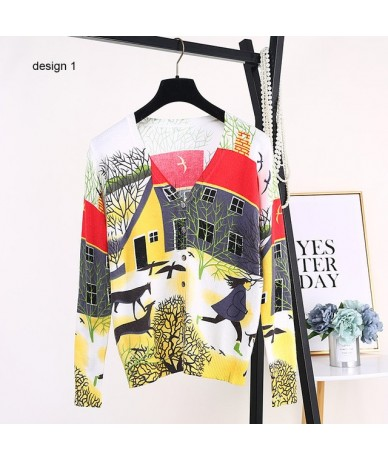 new 2019 Spring autumn cardigan Korea style women sweater thin long-sleeve knitted sweater women clothing B-074 - design 01 ...