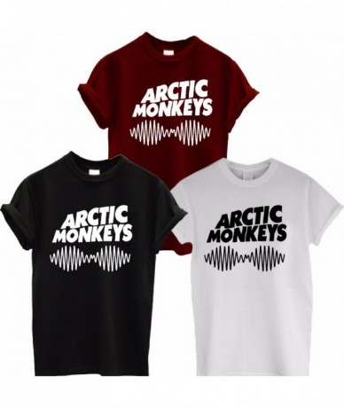 Arctic Monkeys Sound Wave T Shirt Tee Top Rock Band Concert - Album High TSHIRT TShirt Tee Shirt Unisex More Size and Color-...