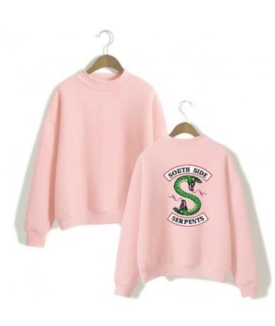 Riverdale South Side Snake Sweatshirt South Side Printed Women's Sportswear Women - Pink - 4Q3080505426-3