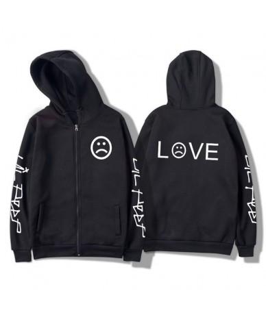 Lil Peep Hoodies Women Sweatshirt Zipper Jackets Cotton Pocket Hot Sale Girl Fans Streetwear Drop Shipping - 11 - 4S30190066...
