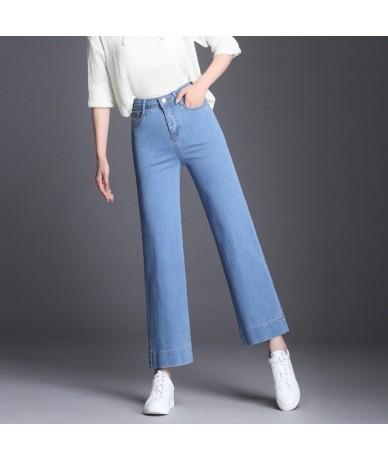 New jeans woman wide leg denim pants mid waist jeans femme loose blue trousers for women casual vintage bottom winter new - ...