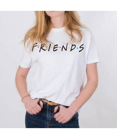 New Summer Women T-shirt VOGUE Letter Printed T shirts Casual Tops Tee Harajuku O Neck Female Shirt Woman Camisetas Mujer - ...