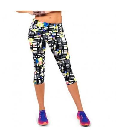 Women Leggings High Waist Female Printed Pants Stretch Cropped Leggings Casual Miti-Colors - QA3 - 4R3720488428-12