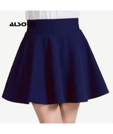 2019 Winter and Summer Style Brand Women Skirt Elastic Faldas Ladies Midi Skirt Sexy Girl Mini Short Skirts Saia Feminina - ...