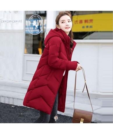 2019 New Parkas Female Women Winter Coat Thickening Cotton Winter Jacket Womens Outwear Parkas for Women Winter Warm Overcoa...