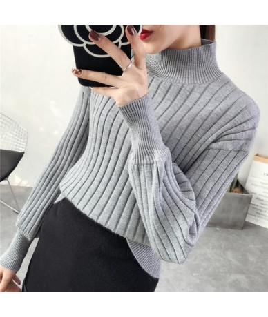 Cheap wholesale 2018 new summer Hot selling women's fashion casual warm nice Sweater Y65 - Gray - 4D3999555093-4