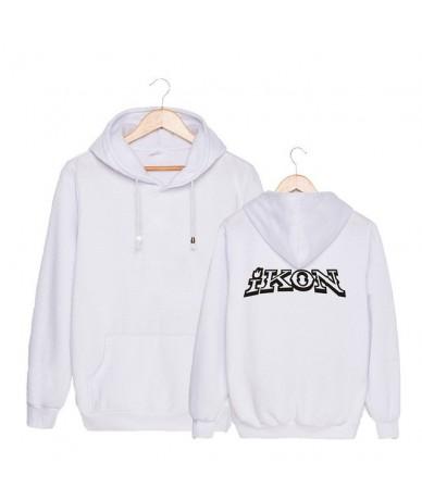 KPOP Korean Fashion IKON NEW KIDS BEGIN Album Concert Cotton Hoodies Hat Clothes Pullovers Sweatshirts PT492 - White - 44392...