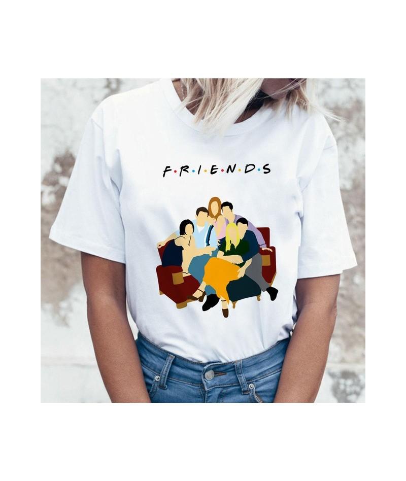 friends tv show t shirt tshirt top tee shirt women female femme ulzzang t-shirt Harajuku Casual Vintage Printing Funny girl ...