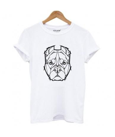 Cotton french bulldog print t shirt women casual dog print t-shirt for girls summer women tshirt tops - DOZ0102-BS - 4539722...
