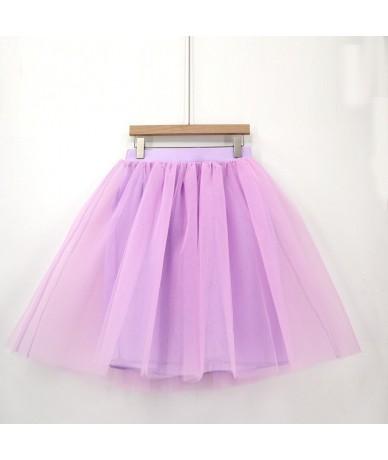 Custom Fashion Blue Tulle Skirt Vintage Midi White Pleated Skirts Womens Lolita Petticoat falda Mujer saia jupe Secret - JH1...